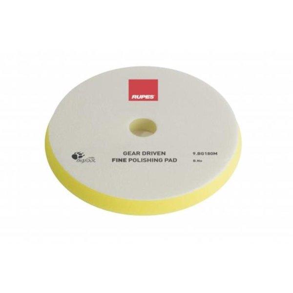 Rupes BigFoot Polierschwamm/-Pad dünn Mille Fine Gelb 150/165