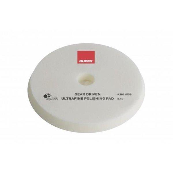Rupes BigFoot Polierschwamm/-Pad dünn Mille Ultrafine Weiß 150/165