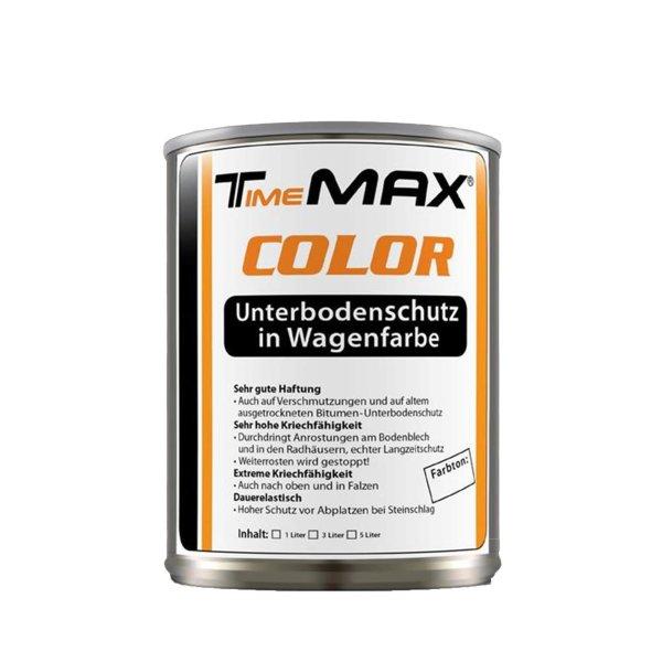 TimeMAX COLOR - Unterbodenschutz in Wagenfarbe