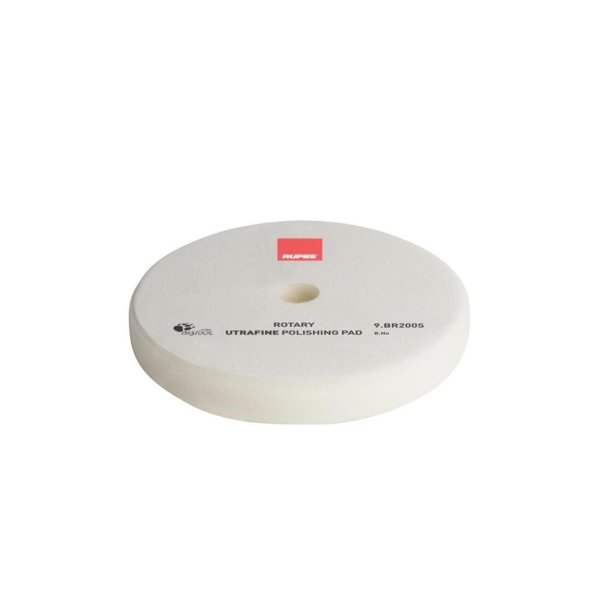 Rupes BigFoot Polierschwamm/-Pad Rotary Ultra Fine weiß 175/180