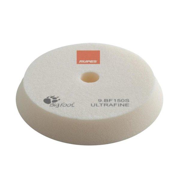 Rupes BigFoot Polierschwamm/-Pad Ultrafine Weiß 130/150