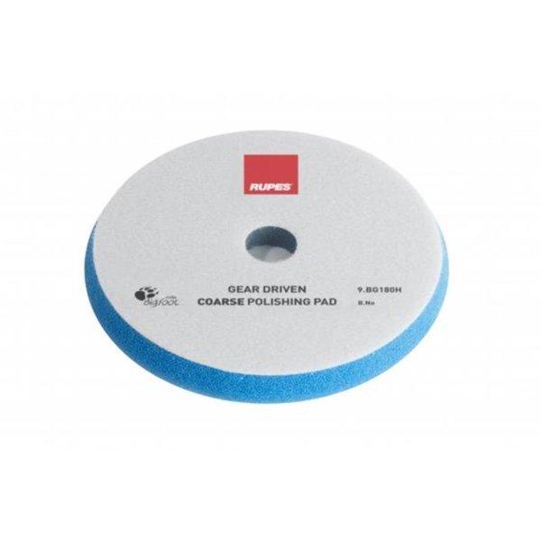 Rupes BigFoot Polierschwamm/-Pad dünn Mille Coarse Blau 150/165