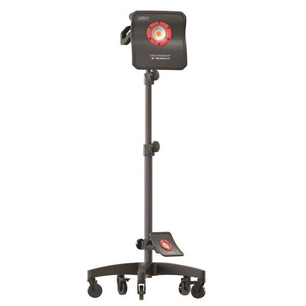 Scangrip Stativ fahrbar Wheel Stand für Polierleuchte
