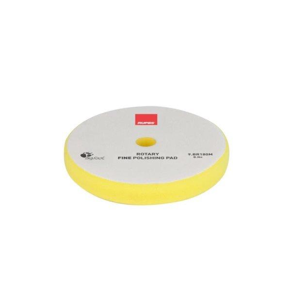 Rupes BigFoot Polierschwamm/-Pad Rotary Fine gelb 155/160