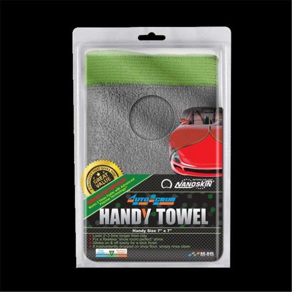 "NANOSKIN AUTOSCRUB Handy Towel 7"" x 7"" General Grade"