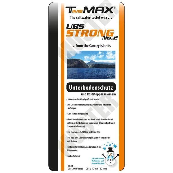 TimeMAX UBS Strong No.1/No.2 - Für den Unterboden